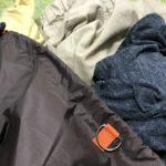 洗濯物と消臭ランドリーバッグ